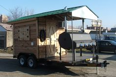 BBQ Shed Concession Trailer: $24,650