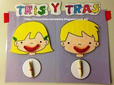 Rincón de una maestra: Los gemelos Tris y Tras