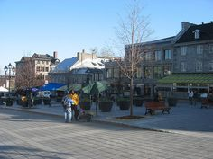 Old Montreal, Place Jacques-Cartier Jacques Cartier, Old Montreal, Quebec City, Street View, Explore, Places, Exploring, Quebec, Lugares
