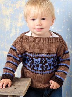 Knitting - Patterns for Children & Babies - Sweater Patterns - Baby Bear