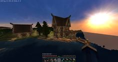 Medieval Fishinghut. Survival.  Melondia.fi #Melondia