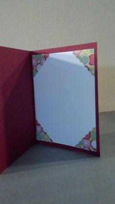 Inside of card...