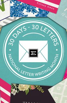 Take the 30 Days, 30 Letters Challenge from Expressionery