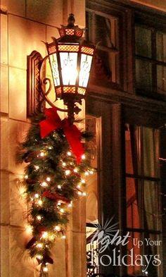 wonderful idea for outdoor lighting.