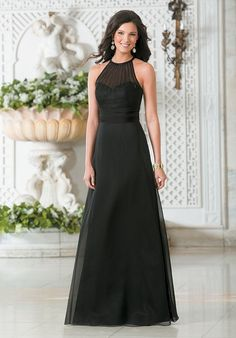 Belsoie Style L174001, Black, Sz. 14, $222  - Available at Debra's Bridal Shop at The Avenues, 9365 Philips Hwy., Jacksonville, FL 32256, (904) 519-9900. Dresses available in various colors, styles and sizes. Call us for your consultant appointment.
