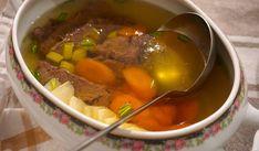 Hovězí vývar - Kuchařka pro dceru Soup, Beef, Cookies, Recipes, Meat, Crack Crackers, Biscuits, Soups
