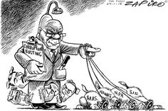Cartoons and political satire featuring Zapiro, award winning satirist Carlos Amato and the hilarious Madam & Eve. Published by the Mail & Guardian Online. Jacob Zuma, Political Satire, Hilarious, Funny, Bud, Humor, Politics, Minions, Compliments