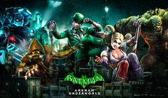 El Jugón De Móvil Batman: Arkham Underworld portada