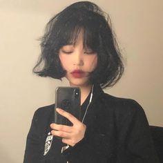 213 grafik o 🦠😷 angel sin w We Heart It Cut My Hair, New Hair, Hair Cuts, Hair Inspo, Hair Inspiration, Short Grunge Hair, Korean Short Hair, Ulzzang Short Hair, Hair Reference