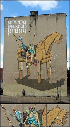 chazme718 #chazme718 #streetart #illustrazione #arte #istallazione