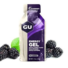 GU Original Sports Nutrition Energy Gel, Jet Blackberry, 8-Count - http://www.exercisejoy.com/gu-original-sports-nutrition-energy-gel-jet-blackberry-8-count/fitness/