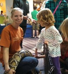 Meet Michigan Native Animals at The Creature Conservancy Ann Arbor, MI #Kids #Events