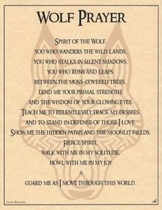 Wolf Prayer – Witches Of The Craft®