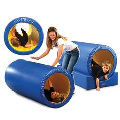 Roller Tunnel by ROMPA® - Tunnels & Hideaways - Soft Play - Rompa® - The home of Snoezelen® multi-sensory environments and sensory equipment.