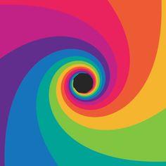 'Rotating Spiral' by Florian de Looij