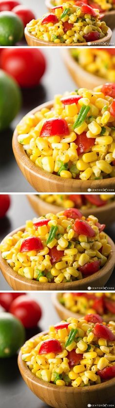 This SUMMER CORN SALAD with fresh cilantro and tomatoes is a quick and easy side dish great for any time of year, but especially perfect for summer BBQ's and potlucks. This Corn Salad is ready in 10 minutes and perfect served room temperature or chilled.
