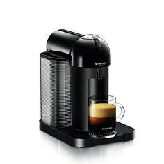 VertuoLine Coffee & Espresso Maker, Coffee & Espresso Combo Brewer (Black)