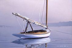 Cat Boat in the Fog #3