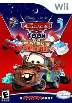 """New to the Library! July 2015 """"Mater's Tall Tales"""" [video game] Wii (Rated E for everyone)"""