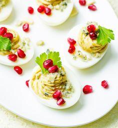 Wielkanoc: przepis na jajka faszerowane, fot. Fotolia