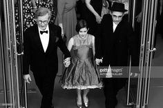 US director Steven Spielberg, US actress Ruby Barnhill and British actor Mark Rylance leave the Festival Palace on May 14, 2016 after the screening of the film 'The BFG' at the 69th Cannes Film Festival in Cannes, southern France. / AFP / Antonin THUILLIER