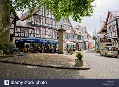 Om Maat Restaurant, Marktplatz, Erpel, Rhine, Germany Stock Photo, Royalty Free Image: 26873843 - Alamy