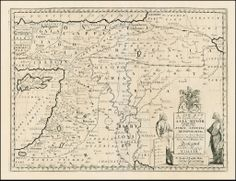 A New Map of the Eastern Parts of Asia Minor Largely taken as Also of Syria, Armenia, Mesopotamia c . . .Dedicated to his Highness William Duke of Glocester [shows Cyprus]Armenia on antique maps