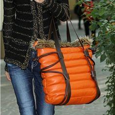 PU Down Package Women Shoulder Bags - Shoulder Bags - Women's Bags