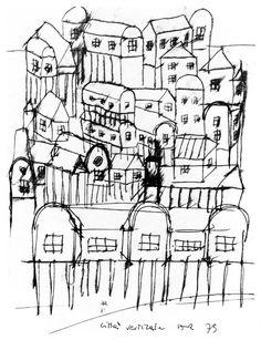 Aldo Rossi, Citta Verticale, 1975