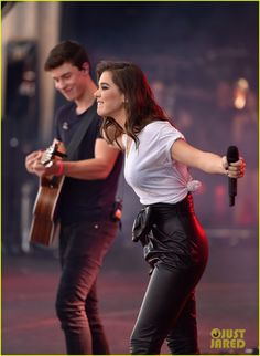 Hailee Steinfeld & Shawn Mendes Team up for 'Stitches' Duet at iHeartRadio Music Festival 2015 (Video): Photo #3466115. Hailee Steinfeld hits the stage with Shawn Mendes at the 2015 iHeartRadio Music Festival at MGM Grand Garden Arena on Saturday (September 19) in Las Vegas. The…