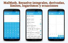 MalMath. Resuelve integrales, derivadas, límites, logaritmos y ecuaciones