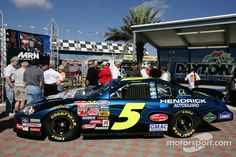 Hendrick Motorsports Mark Martin announcement: the No. 5 Busch Series Chevy that Mark Martin will drive in 2007