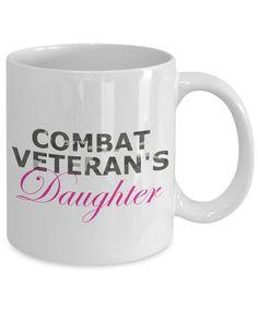 Combat Veteran's Daughter - 11oz Mug