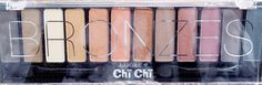 Chi Chi Glamorous Makeup Collection Bronzes ♡ First Impression