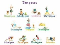 Great Yoga Poses For Kids Jpg 506 380