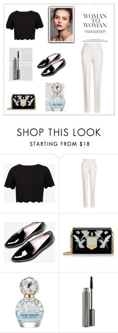 """""""Wigsbuy Reviews"""" by wigsbuy-reviews ❤ liked on Polyvore featuring Ted Baker, Jil Sander, Jimmy Choo, Balmain, Marc Jacobs, MAC Cosmetics, Beauty, hairstyles, Wigsbuyreviews and Reviewswigsbuy"""