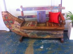 Full Boat Bench   Day Bed, Outdoor Lounge, Timber, Fishing Boat, Bali,  Balinese | Sit Yourself Down | Pinterest | Outdoor Lounge, Fishing Boats  And Balinese