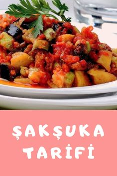 Şakşuka Tarifi Turkish Recipes, Ethnic Recipes, Pasta, Turkish Delight, Kung Pao Chicken, Food, Turkish Food Recipes, Hoods, Meals