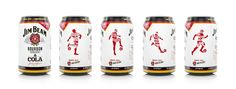 Jim Beam Limited Edition World Cup Cans on Packaging of the World - Creative Package Design Gallery