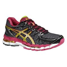 Asics Kayano 20 great for outdoor running. The gel offers great shock absortion.