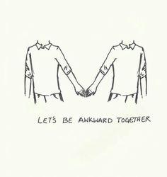 Gay...love...awkward...together...