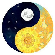 Sun Moon Yin Yang by ~Ketutar on deviantART a further illustration of dark/light