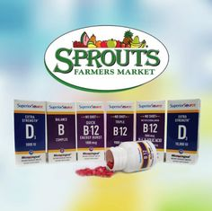 Shop #SuperiorSourceVitamins at your local Sprouts Farmers Market.