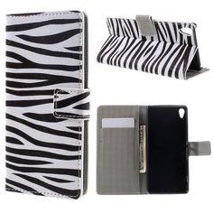 Köp Plånboksfodral Sony Xperia XA zebra online: http://www.phonelife.se/planboksfodral-sony-xperia-xa-zebra