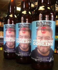 Evil Twin and Crooked Stave Have a Ryan Gosling-Inspired Beer