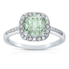 Aquamarine diamond