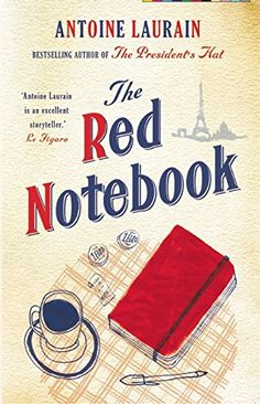 The Red Notebook - #books #reading - #AntoineLaurain, #RomanticComedy - http://lowpricebooks.co/2016/07/the-red-notebook/