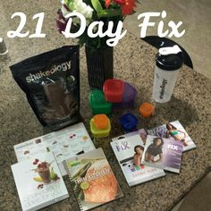 Look at all the goodies I got in my Beachbody Challenge Pack!