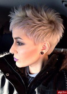 20 photos de coupes courtes absolument hallucinantes ! - Coupe de cheveux