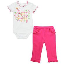 Koala Baby Girls' 2 Piece Pant Set- Infant